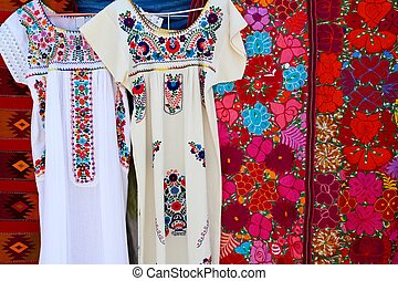 Chiapas Mayan dress embroidery and serape handcrafts from...