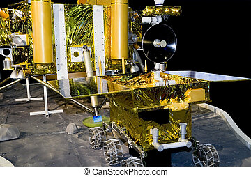 Lunar rover - China's lunar probe ,Lunar rover