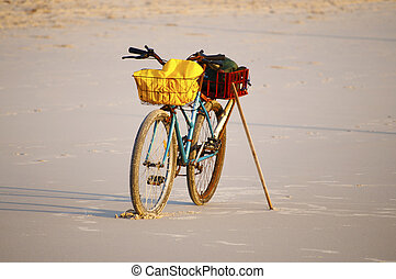Pushbike - bike at the beach
