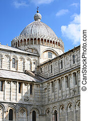 Duomo Cathedral in Pisa, Tuscany, Italy