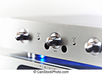 High end stereo Amplifier - Hi-Fi stereo amplifier with...