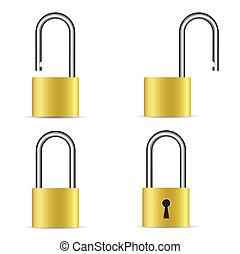 lock icons