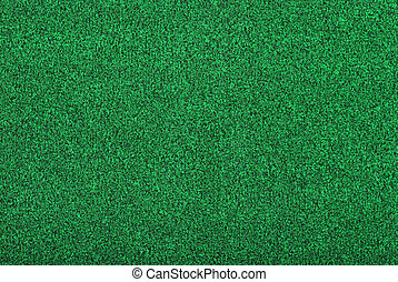 artificial golf green grass making a background