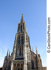 Ulm, Germany - Ulm Minster, the world's tallest church tower