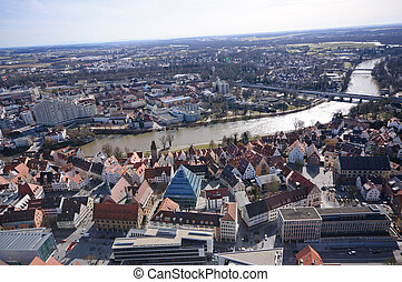 Ulm, Germany - View from the Ulm Minster