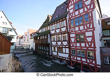Ulm, Germany - Old District of Ulm, Germany
