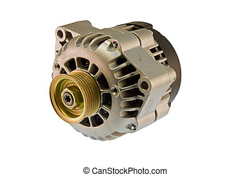 modern auto alternator - modern automotive power generating...