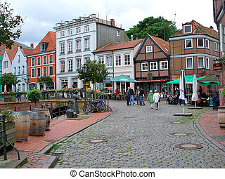 Stade, Germany - Old Town of Stade, Germany