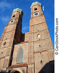 Munich, Germany - Frauenkirche in Munich