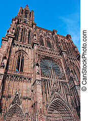 Strasbourg, France - Strasbourg Cathedral, The World...
