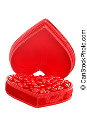 candy cinnamon hearts red heart