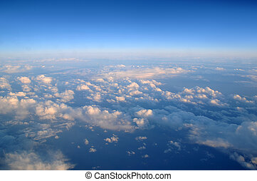 Above the Clouds - Photograph taken above the clouds over...