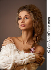 Classical beauty portrait