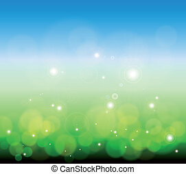 Glowing Lights background. Vector