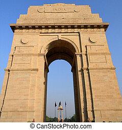 India Gate in New Delhi India, taken in 2010...