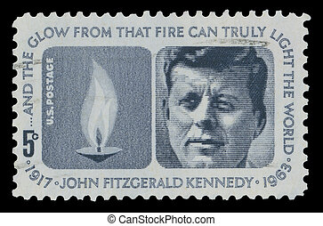 USA Kennedy Memorial 1964 stamp - USA - CIRCA 1964 - John...