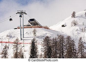 Ski resort Madonna di Campiglio Italy