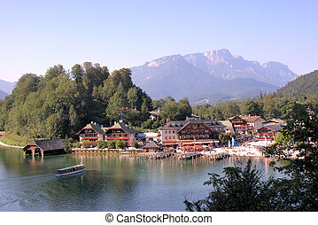 Community at Koenigssee - a municipality in the district of...