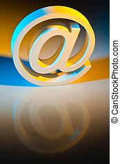 電子メール, コミュニケーション, 特徴, オンラインで