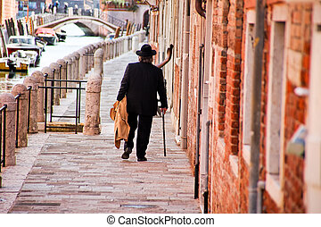 Scene from Venice in Italy - Scene from the famous Venice in...