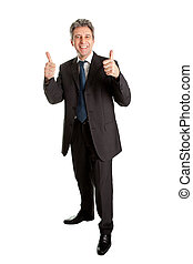 Portrait of successful business man - Portrait of successful...