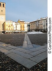 Cathedral square, Lodi, Italy