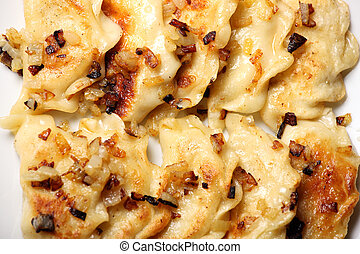 Traditional Polish dumplings