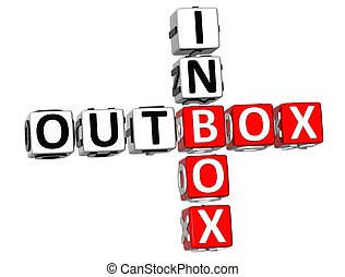 Outbox, Inbox, crossword