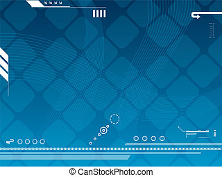 technology background vector - abstract background vector...