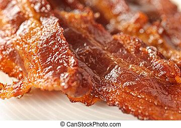 Bacon - Closeup on bacon