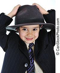 positive kid