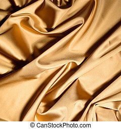 gold textile background close up