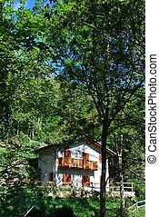 Country house - Small country house in the forest, Italy