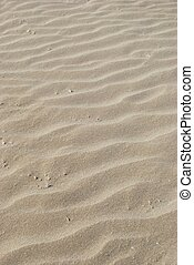 Sand background - Rippled sand background as abstract...