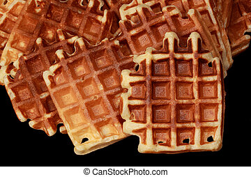 some waffles