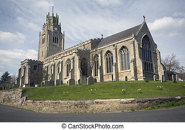 Sutton Church in the county of Cambridgeshire