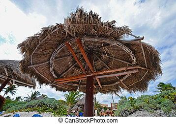 Beach Hut - A Mexican beach hut.