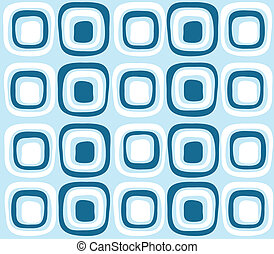 seamless blue color retro pattern