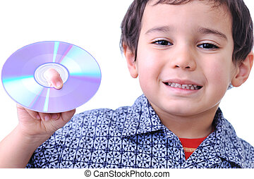Kid with CD