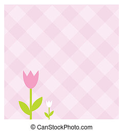 Spring banners - Greeting card with copy space