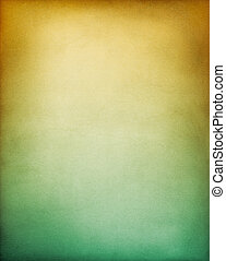 Yellow Green Background - A vintage textured paper...