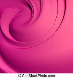 Abstract violet whirlpool. Clean, detailed render....