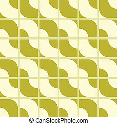 seamless outlined wave pattern