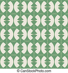 seamless bamboo argyle - unique geometric vector pattern in...