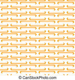 seamless orange pin pattern