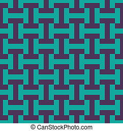 seamless 80s I bar pattern - grid vector pattern in rich...