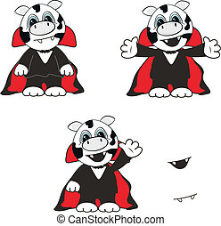 cow  dracula cartoon 10