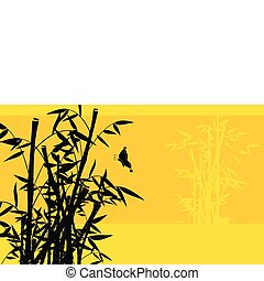 bamboo background 05 - bamboo background  in vector format