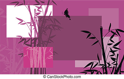bamboo background 02 - bamboo background  in vector format