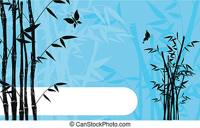 bamboo background 04 - bamboo background  in vector format